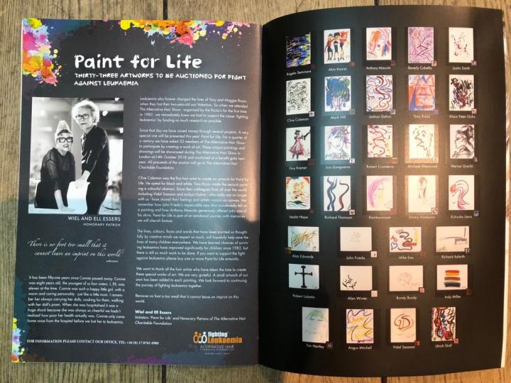 Paint for Life by Wiel Essers and Ell